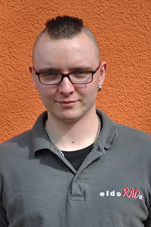 Team - Mitarbeiter F. Palm Zweiradmonteur bei eldoRADo. Magdeburg
