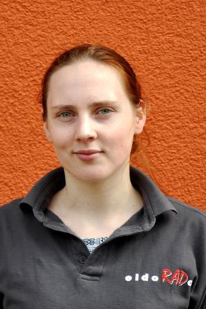 Team - Mitarbeiterin J. Kieselbach Fahrrad-Fachverkäuferin