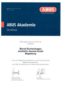 B.E. ABUS On The Road! 2017