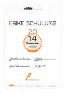 C.N. KTM E-Bike Schulung 2014
