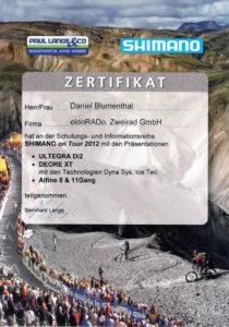 D.B. Shimano On Tour 2012