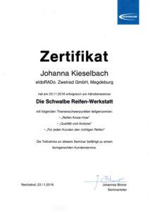 J.K. Schwalbe Händlerseminar 2016