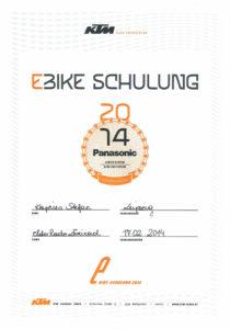 S.K. KTM E-Bike Schulung 2014