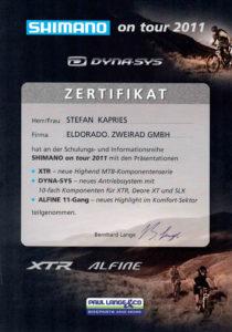 S.K. Shimano On Tour 2011