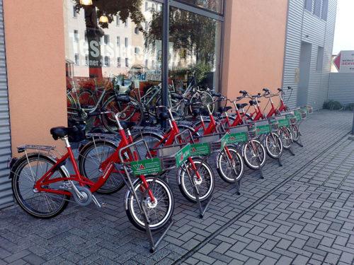 Fahrräder von Wobau Magdeburg