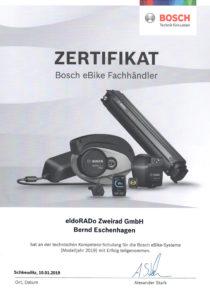 B.E Bosch Schulung 2019