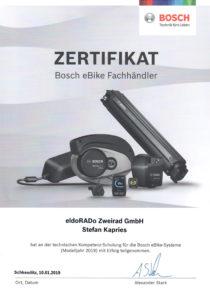 S.K. Bosch Schulung 2019