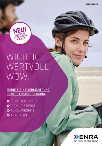 Enra Versicherung E-Bike