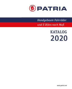 Cover Patria Katalog 2020