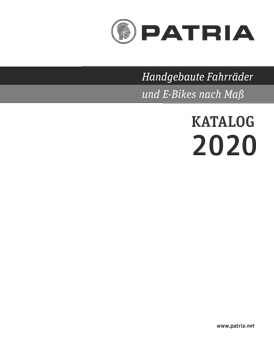 Cover Patria-Katalog 2020 grau