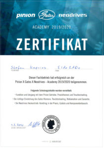 S.K. Pinion Academy 2020