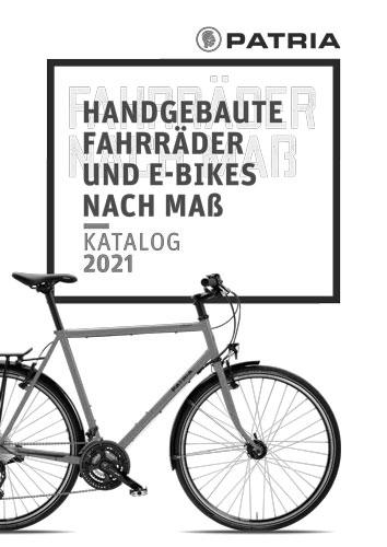 Cover Patria-Katalog 2021 grau