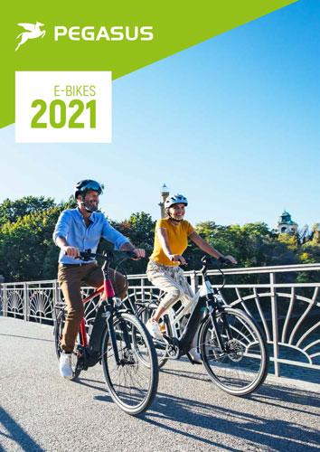 Cover Pegasus E-Bike Katalog 2021